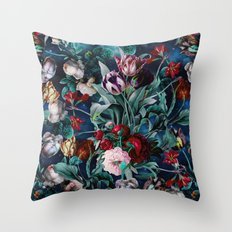 NIGHT FOREST X Throw Pillow