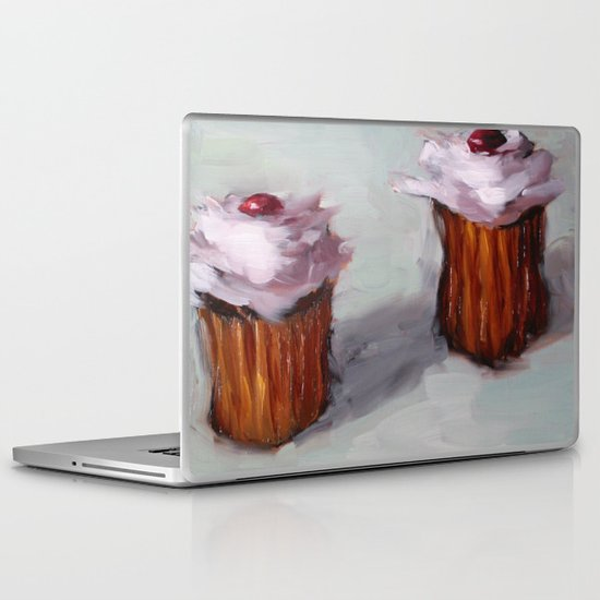 Cupcakes Laptop & iPad Skin