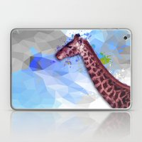 Low poly giraffe Laptop & iPad Skin