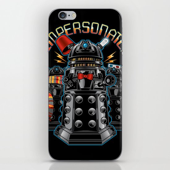 Impersonate! iPhone & iPod Skin