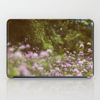 Among The Wildflowers iPad Case