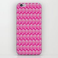 Pink Frog  iPhone & iPod Skin