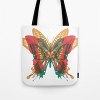 Butterfly Rorschach, Ya … Tote Bag