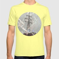 This Is My Power By Debb… Mens Fitted Tee Lemon SMALL