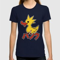 Punk Duck Womens Fitted Tee Navy SMALL