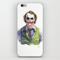 Heath Ledger (The Joker) iPhone & iPod Skin