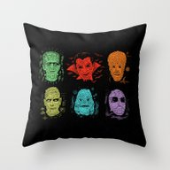 Throw Pillow featuring Old Grotesque by Josh Ln