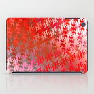 iPad Case featuring We Are Linked (bright Re… by NatalieCatLee