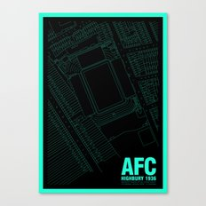 Highbury - It's Arsenal Around Here Canvas Print