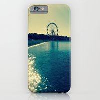 iPhone Cases featuring FerrisWheel by J Rose