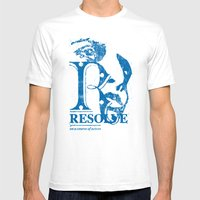 Resolve - On A Course Of… Mens Fitted Tee White SMALL