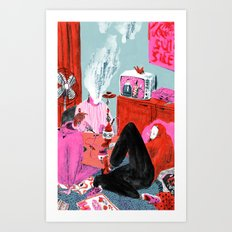 Bums (Lost Time) Art Print