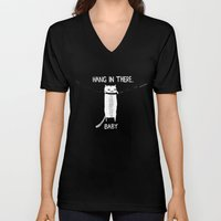 Hang In There, Baby Unisex V-Neck