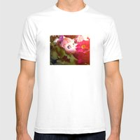 Bed Flower Mens Fitted Tee White SMALL
