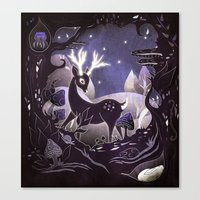 Protector of the Forest Canvas Print