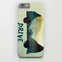 drive iPhone & iPod Cases featuring drive by yuvalaltman