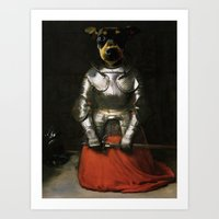 Joan of Bark Art Print