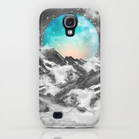 Galaxy S4 Cases featuring It Seemed To Chase the Darkness Away (Guardian Moon) by soaring anchor designs
