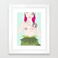 Taboo Framed Art Print