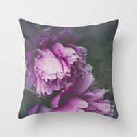 Mysterious Passion Throw Pillow