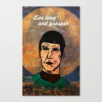 Live Long... Canvas Print