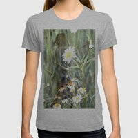Flower Fairies Womens Fitted Tee Athletic Grey SMALL