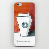 Not before my latte iPhone & iPod Skin