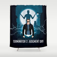 Hasta la vista, baby. Shower Curtain
