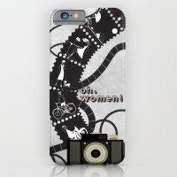 iPhone & iPod Case featuring Oh, women by Aleksandra Mikolajczak