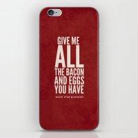 Bacon And Eggs - Ron Swa… iPhone & iPod Skin