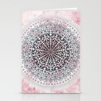 ICELAND MANDALA IN PINK Stationery Cards