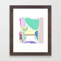 Vermont Window Framed Art Print