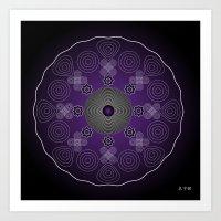 Fleuron Composition No. 227 Art Print
