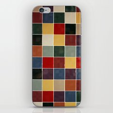 Checkers fine art photography iPhone & iPod Skin