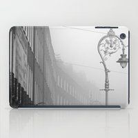 Dublin street lamp in the fog iPad Case