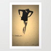 Woman Emerging (l) Art Print