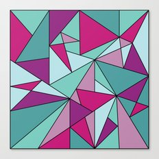 Purpinklue Canvas Print