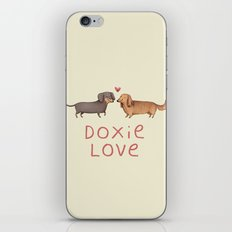 Doxie Love iPhone & iPod Skin