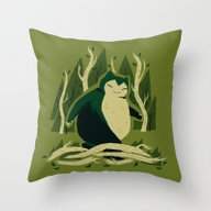 Snorfoot Throw Pillow