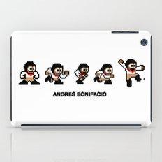 8-bit Andres 5 pose v1 iPad Case