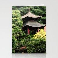 Garden Tempel Stationery Cards