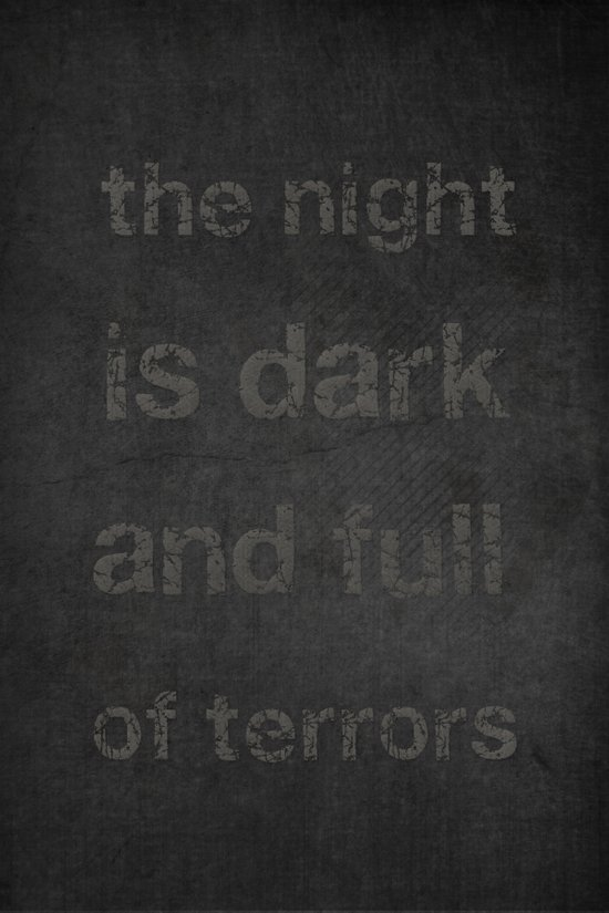 """Night Terrors"" Print Art Print"