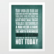 What I've Learned From G… Art Print