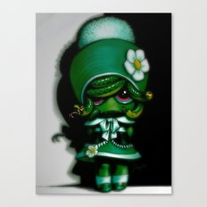 Lil' Medusa Canvas Print