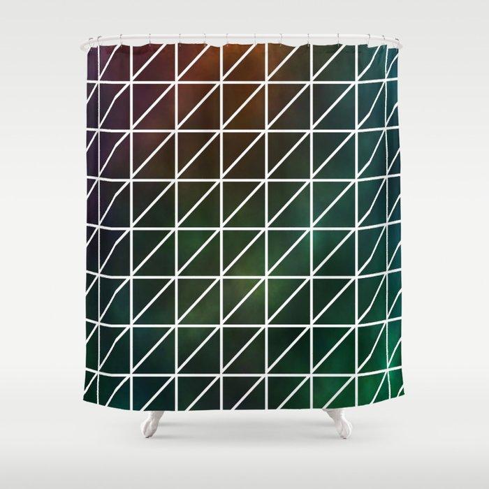 Stellar Geometric Shower Curtain By Mailboxdisco Society6
