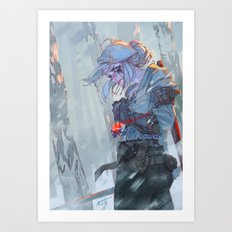 Cirilla Art Print