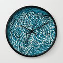 Sea of Everything Wall Clock