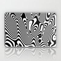 Trippy Background Laptop & iPad Skin
