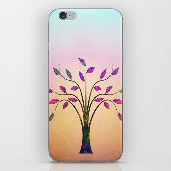 Ornamental Tree iPhone & iPod Skin