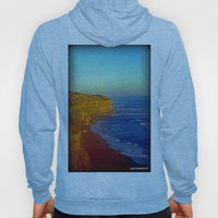 Sunsets on the limestone Cliffs Hoody